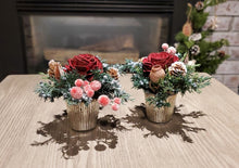Load image into Gallery viewer, Burgundy Arrangement(set of 2)