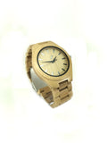 Handmade bamboo wooden watch for men