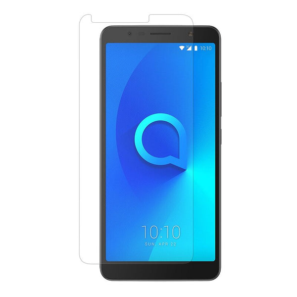 3x Panzer Schutz Glas 9H Tempered Glass Display Schutz Folie Display Glas Screen Protector für ALCATEL 3C