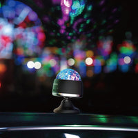 Baseus Car Crystal Magic Ball Licht Lampe Party Deko LED RGB - beleuchtet den Rhythmus der Musik Auto PKW LKW Bar Bühne Hochzeit Wohnzimmer Schlafzimmer usw.