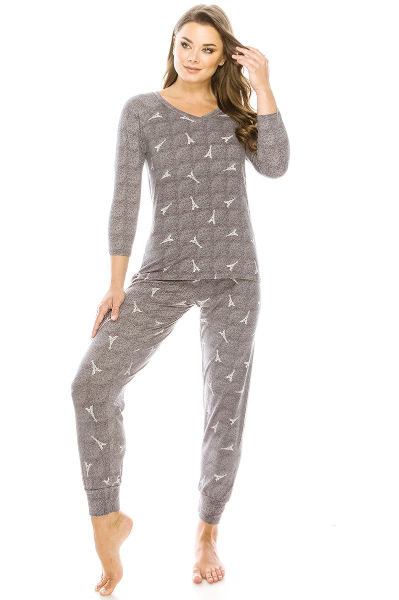 2pc Flannel Pj Set