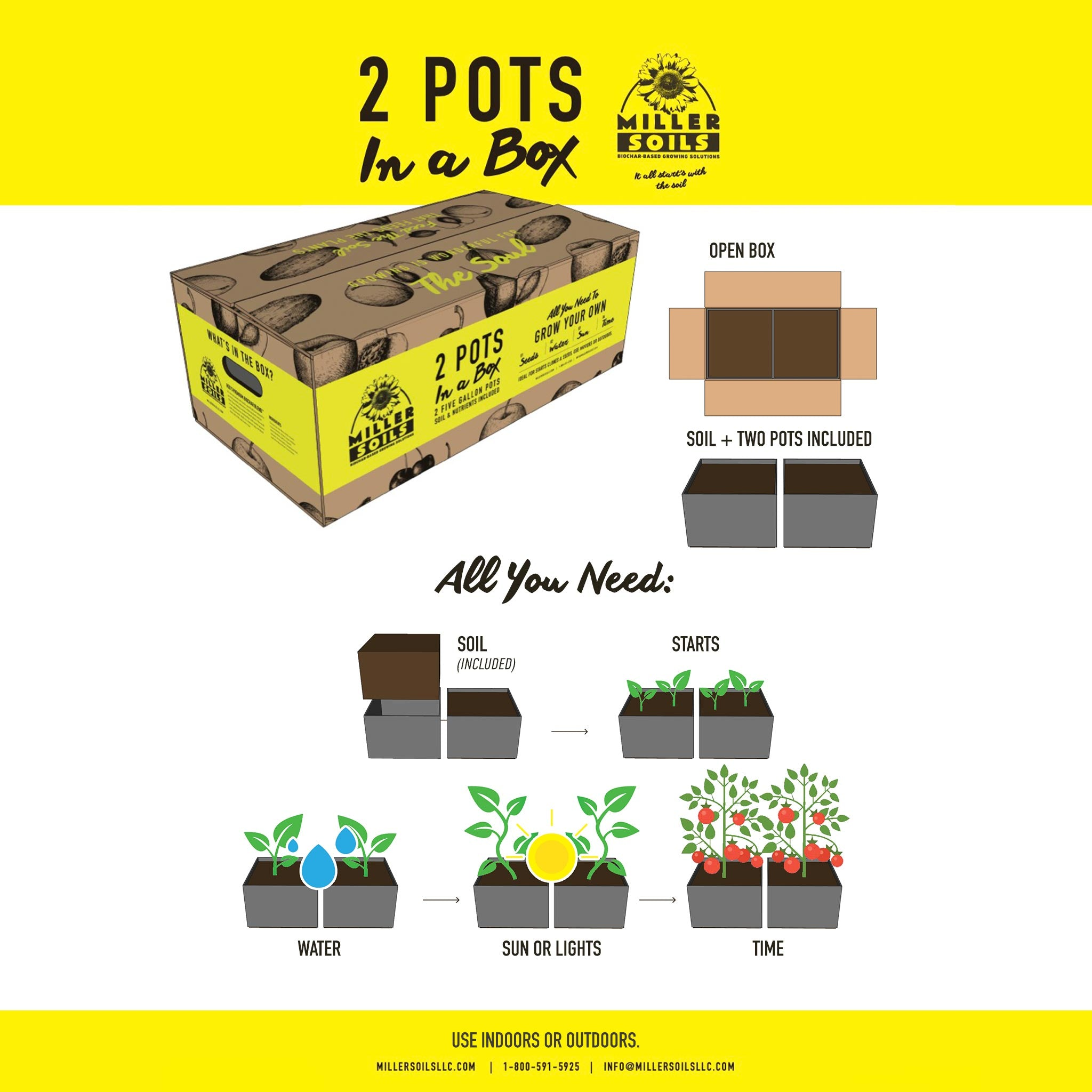 2 Pots in a Box