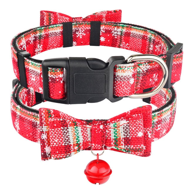 Christmas Pet Collar
