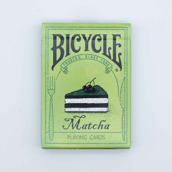 Bicycle Matcha Playing Cards