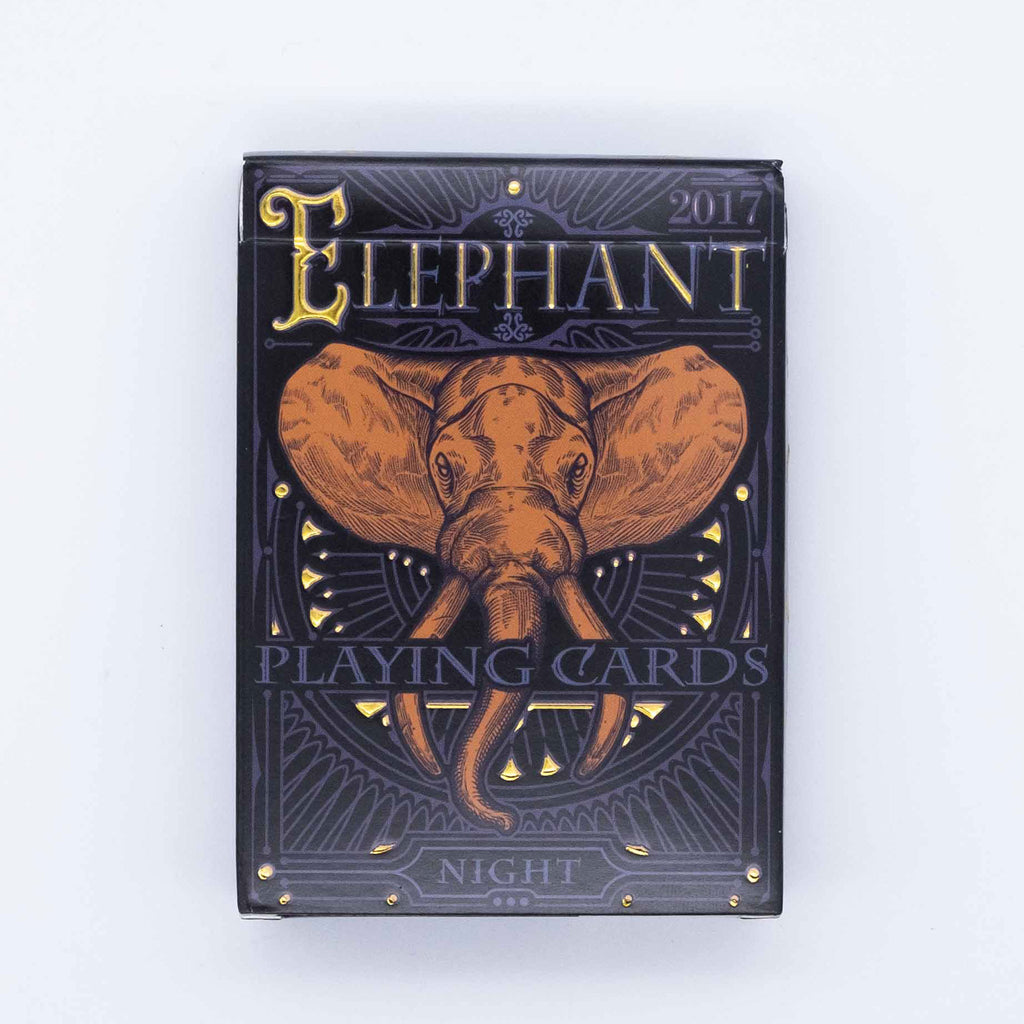 Limited Edition Elephant Playing Cards