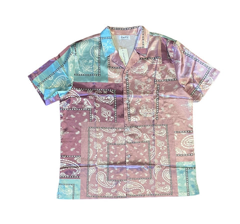 Bandana Camp Collar Shirt