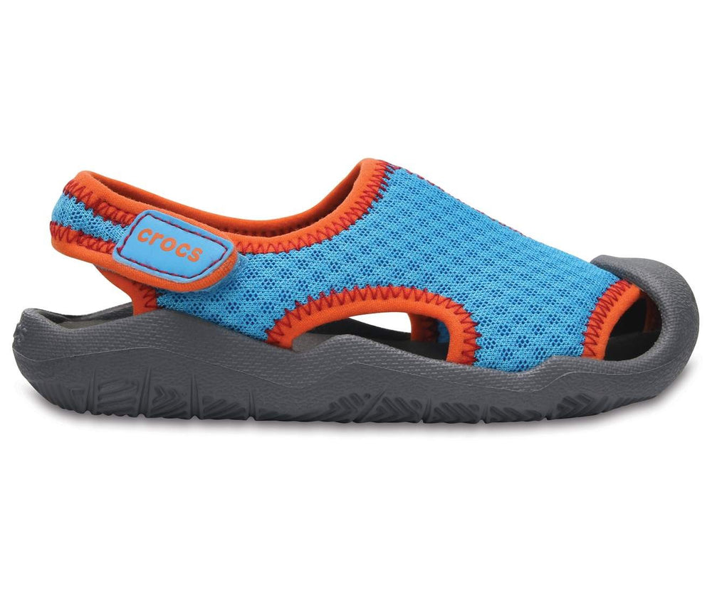 Load image into Gallery viewer, Swiftwater Mesh Sandal K Cerulean Blue/Smoke-43I