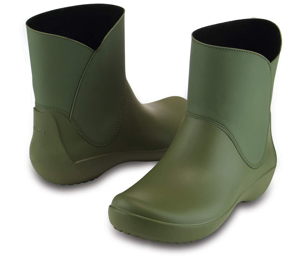 Load image into Gallery viewer, RainFloe Bootie W Army Green