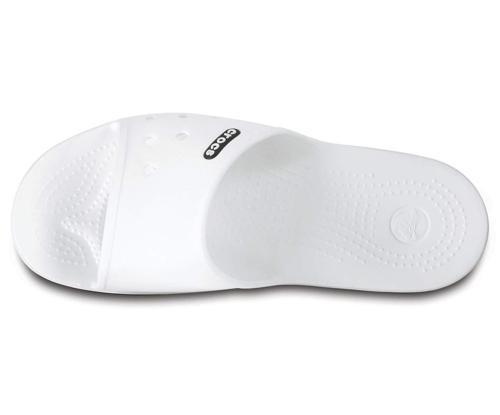 Load image into Gallery viewer, Crocband II Slide White/Black-103