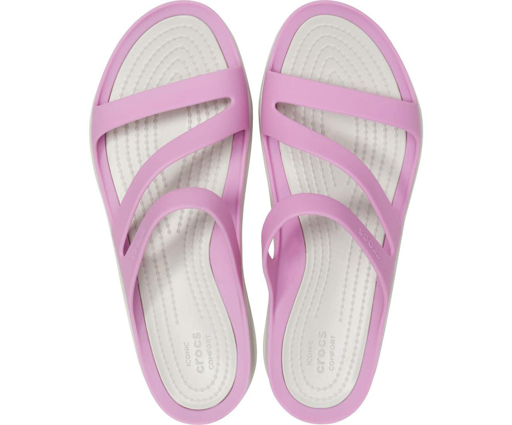 Load image into Gallery viewer, Swiftwater Sandal Women Violet/Pearl White-5PD