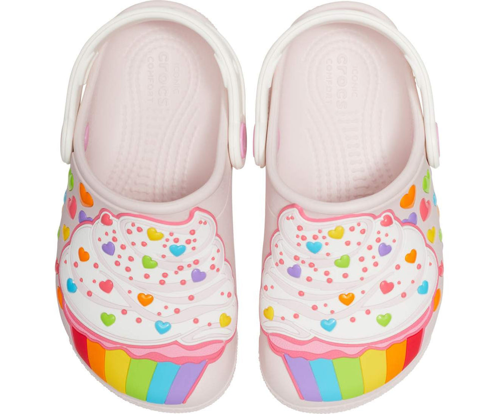 Load image into Gallery viewer, Crocs Fun Lab Cupcake Clog Kids Barely Pink