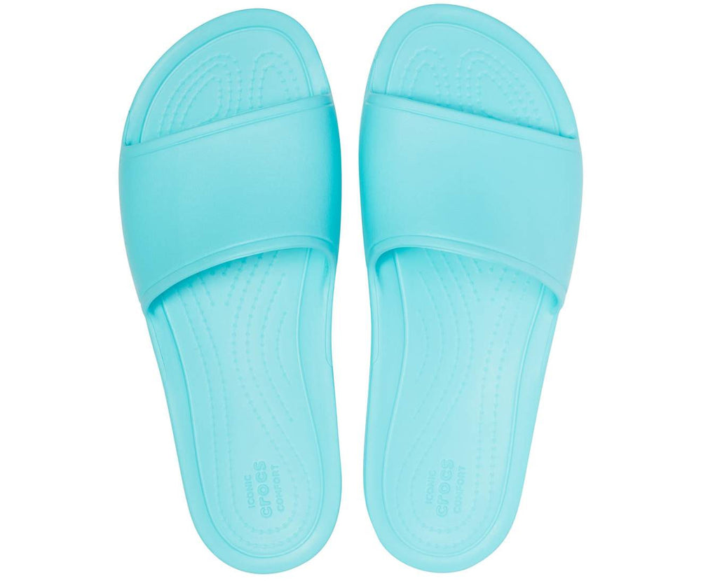 Load image into Gallery viewer, Crocs Sloane Slide Women Pool-40M