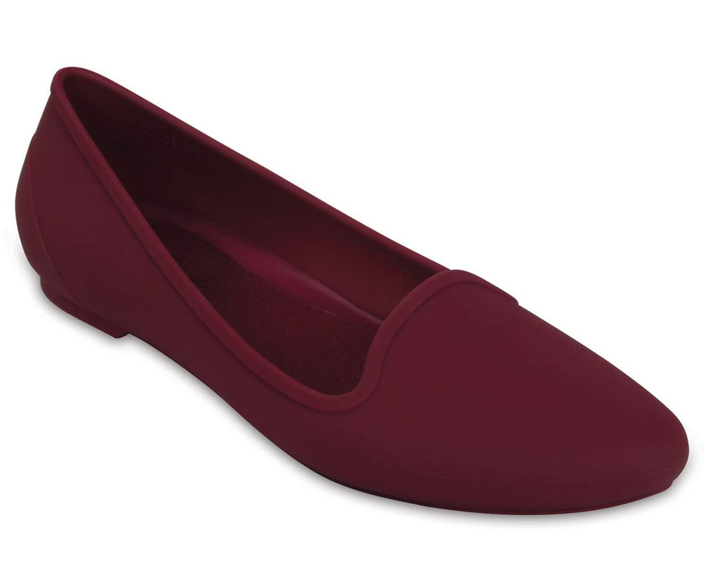 Load image into Gallery viewer, Crocs Eve Flat W Plum-504