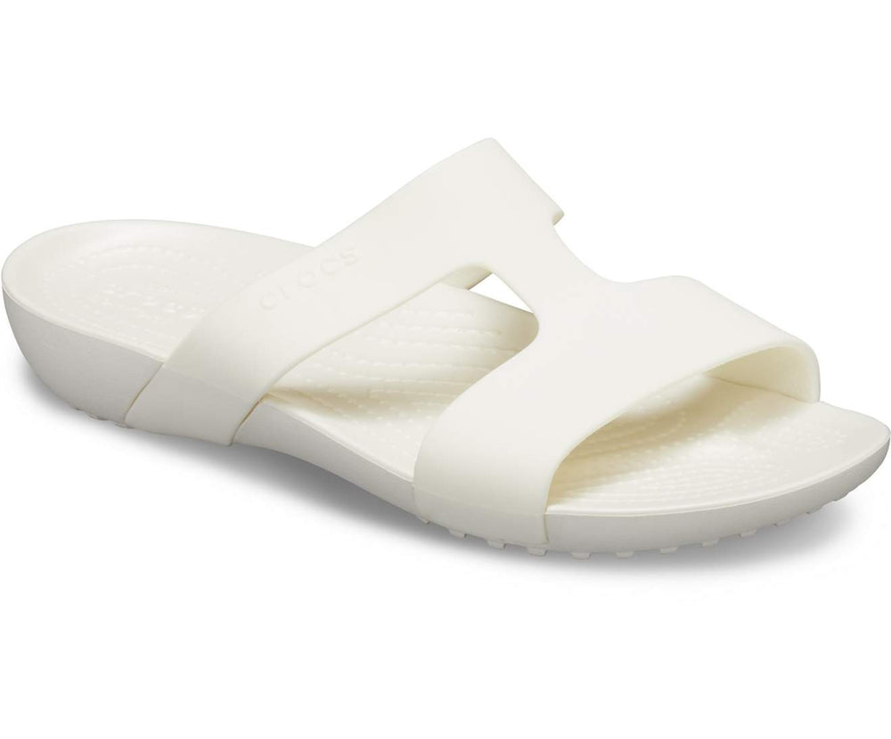Load image into Gallery viewer, Crocs Serena Slide W Oyster/Oyster