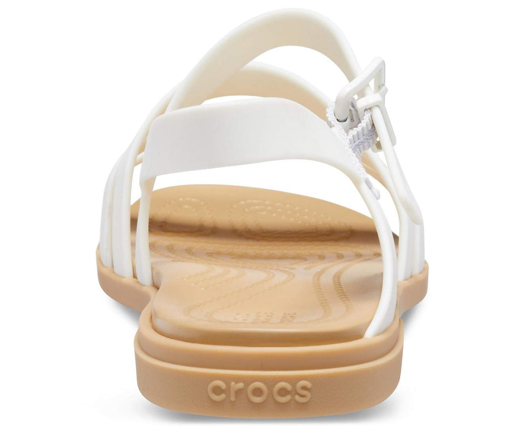 Load image into Gallery viewer, Crocs Tulum Sandal Women Oyster/Tan-1CQ