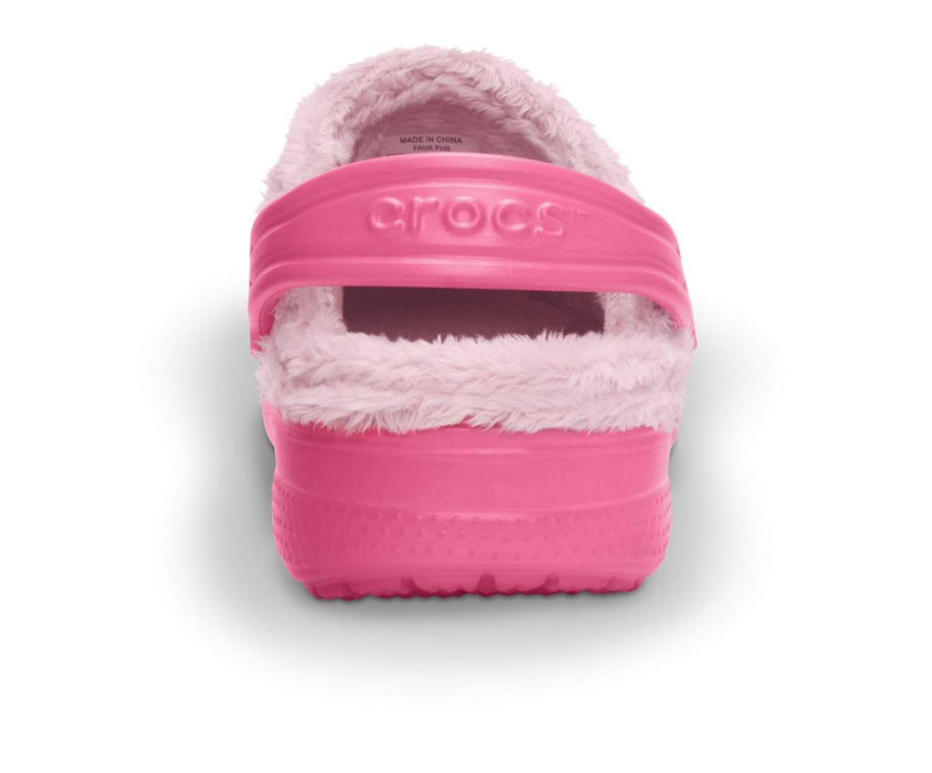 Baya Fleece Clog Kids Hot Pink/Petal Pink-6E5