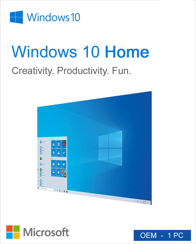 Windows 10 Home OEM ( Bundled with Computer)