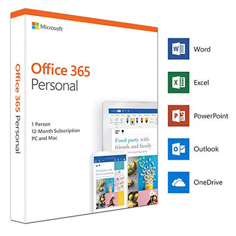 Microsoft 365 Personal (1-User License / 12-Months Subscription / Download)