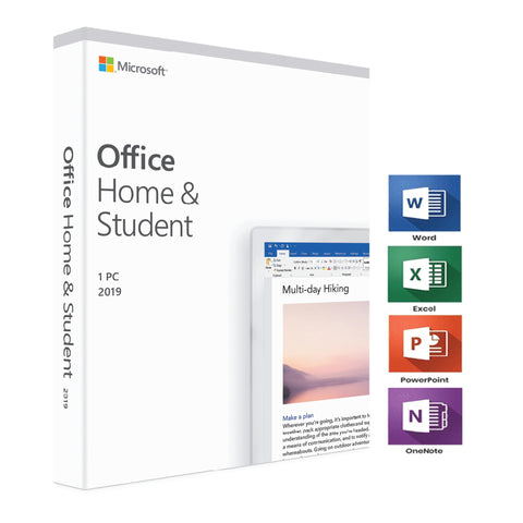 Microsoft Office Home & Student 2019 (1-User License, Download)