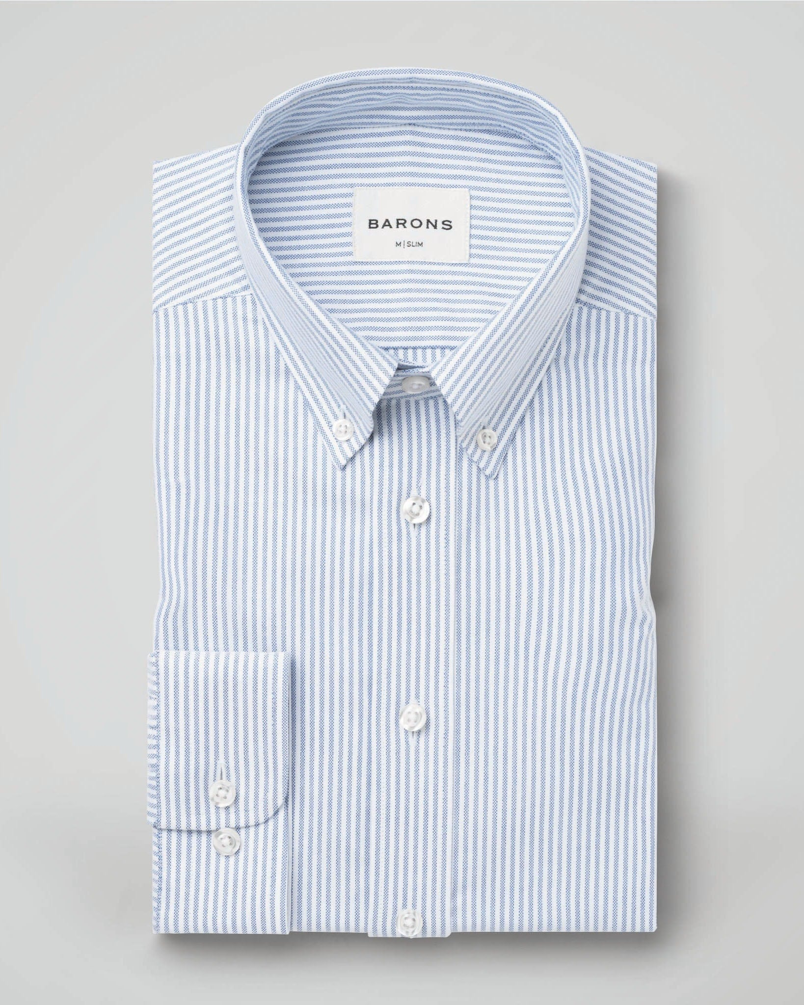 The Founder | Blue Stripe