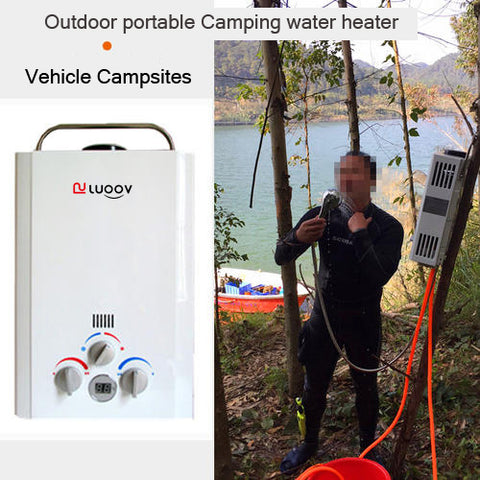Outdoor portable Camping water heater