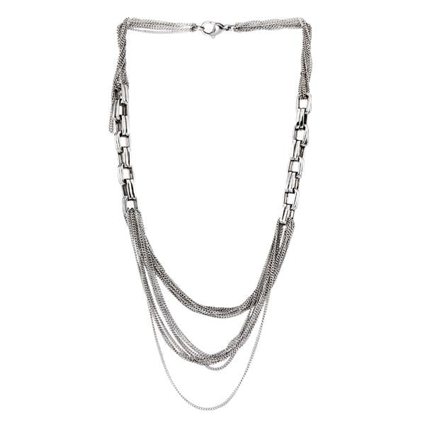 NSS429 STAINLESS STEEL NECKLACE