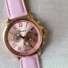 Load image into Gallery viewer, Light Pink Ladies Fashion Watch