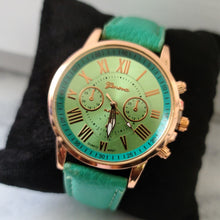 Load image into Gallery viewer, Ladies Fashion Watch-Green