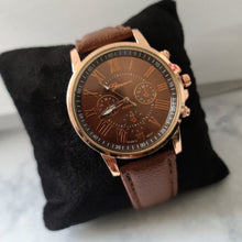 Load image into Gallery viewer, Ladies Fashion Watch-Brown