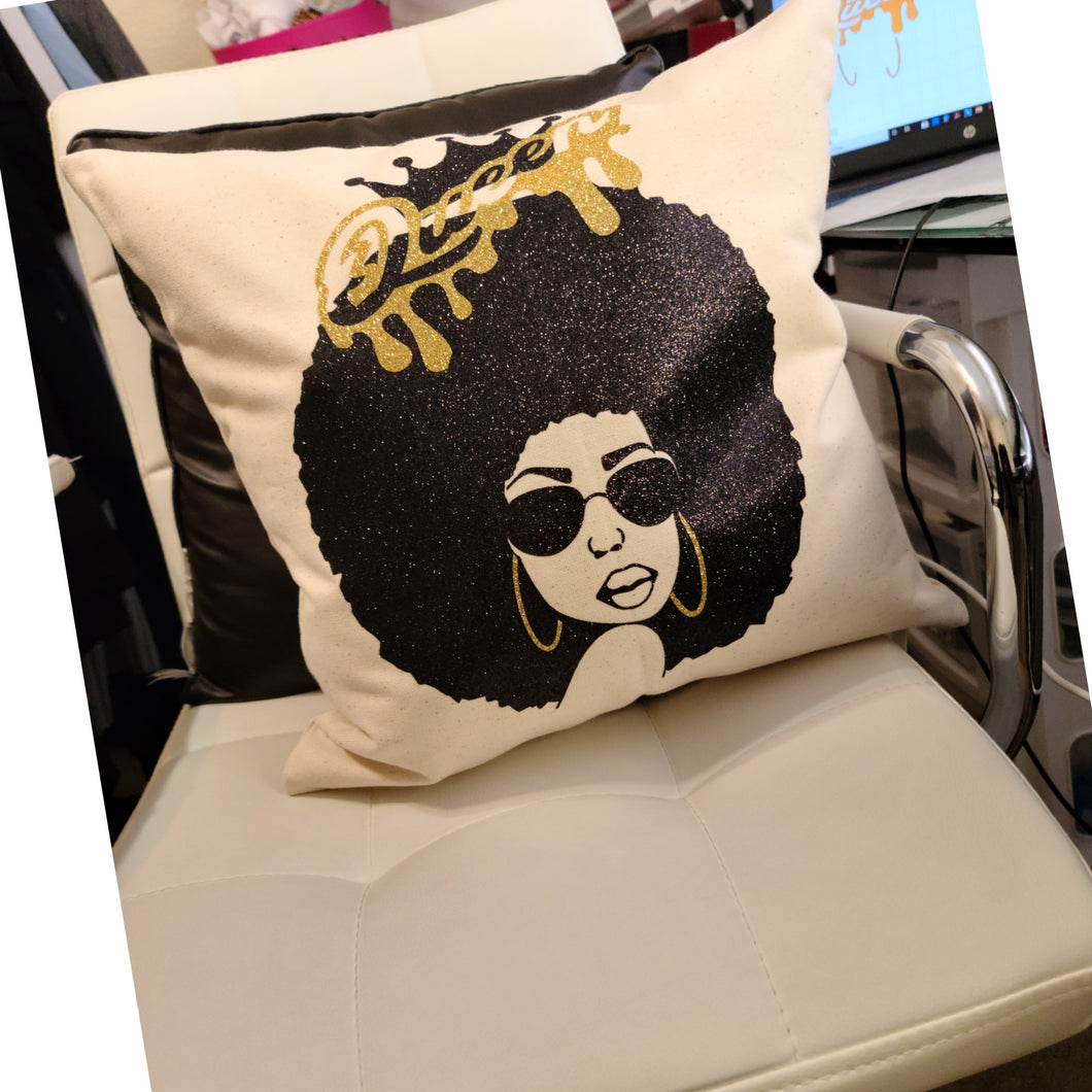 Custom Queen Pillow