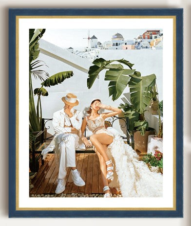 Monaco | Framed photo wall décor