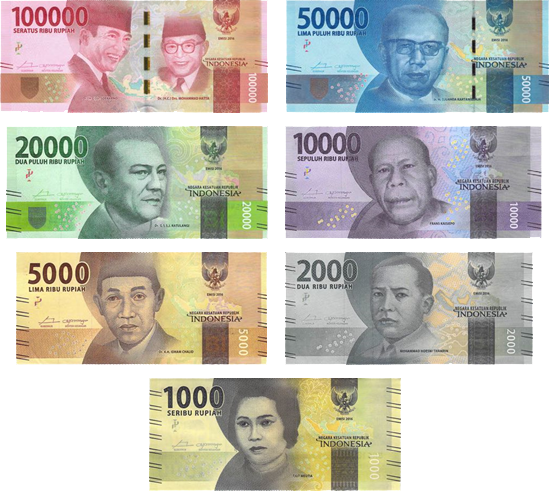 1 Million Indonesian Rupiah