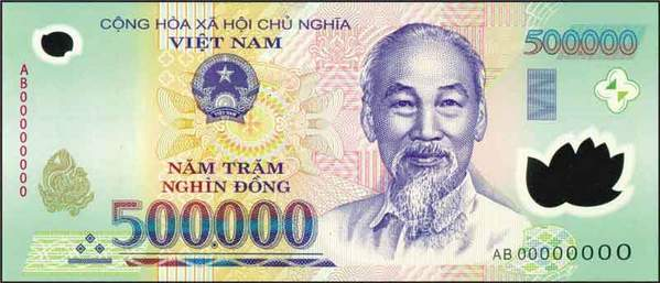 1 Million Vietnamese Dong