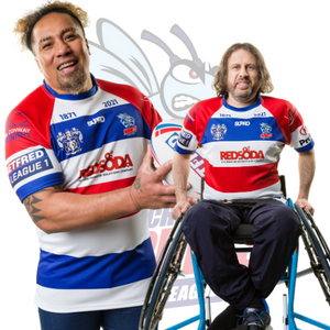 Rochdale Hornets Supro Team Replica Shirt - Home