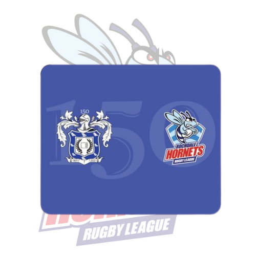 Rochdale Hornets 150th Design Mouse Mat