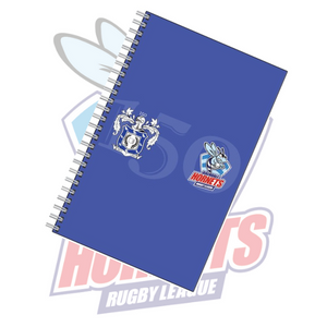Rochdale Hornets Lined 150th Design Notebook