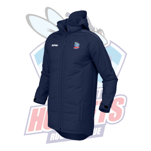 Rochdale Hornets Supro 3/4 Length Pro Jacket - Navy