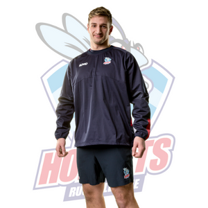 Rochdale Hornets Supro Training Contact Top - Navy/Red