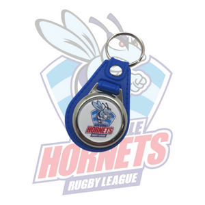 Rochdale Hornets Crest Fob Keyring