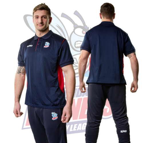 Rochdale Hornets Supro Training Skinny Pants- Navy