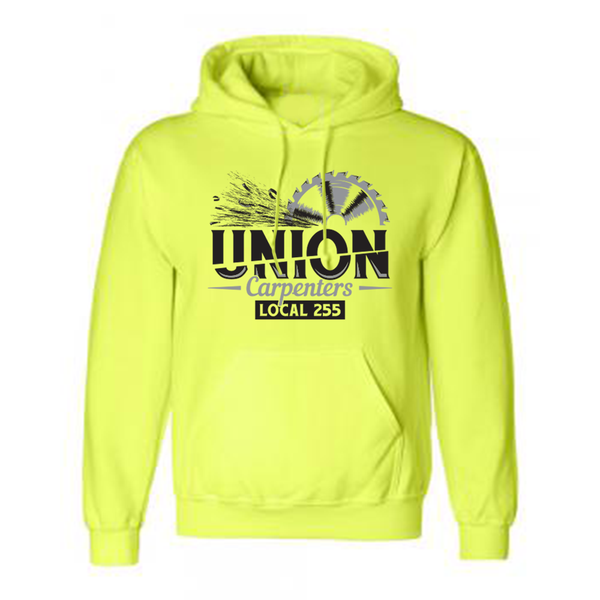 Half Time - Safety Yellow/Green Popover Hoodie