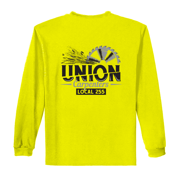 Half Time - Safety Yellow/Green Long Sleeve T-Shirt