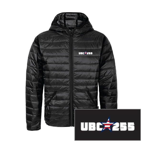 Union Made Quilted Jacket with Embroidered Crest