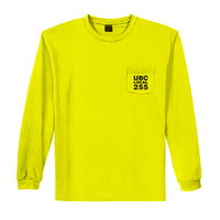 Wedge - Safety Yellow/Green Long Sleeve T-Shirt