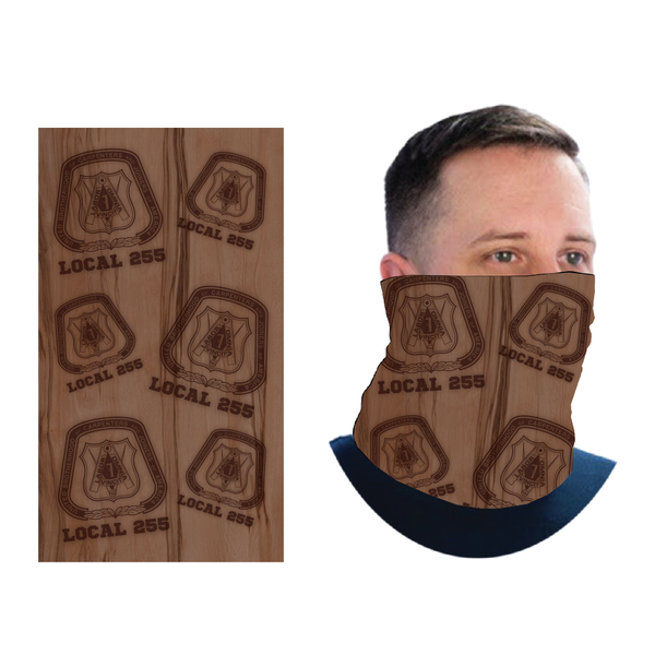 Wood Grain - Neck Gater