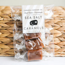 Load image into Gallery viewer, Sea Salt Caramels - 4 Piece Bag