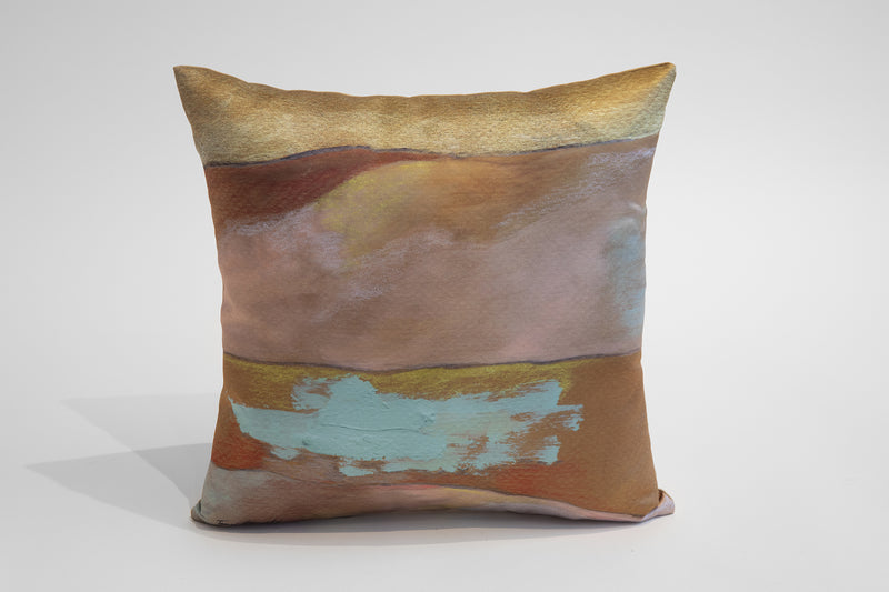 Pastel painted pillows set