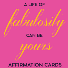 Load image into Gallery viewer, Cheryl Grace's Affirmations of Fabulosity For Work, Love & Home