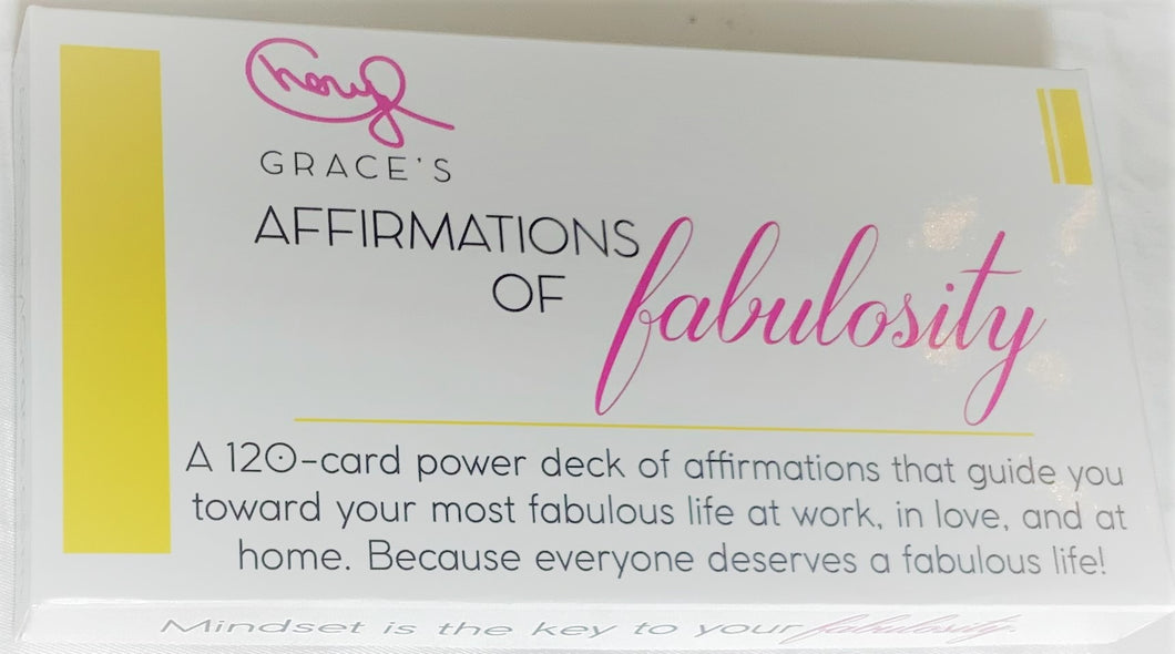 Cheryl Grace's Affirmations of Fabulosity For Work, Love & Home