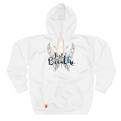 Just Breathe Cervical Cancer Awareness Unisex Pullover Hoodie - Sappy ~Inspo~ Tees